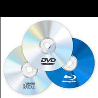 CD-DVD diskai ir priedai