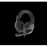 AUSINĖS GENESIS ARGON 100 Gaming Headset, On-Ear, Wired,Microphone, Black