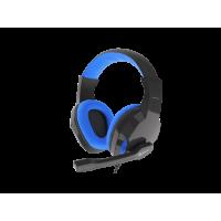 AUSINĖS Genesis Gaming Headset, 3.5 mm, ARGON 100, Blue/Black, Built-inmicrophone