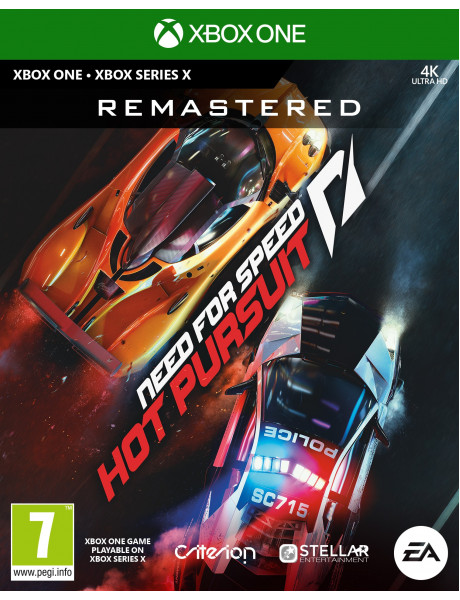 Žaidimas Need for Speed: Hot Pursuit Remastered Xbox One