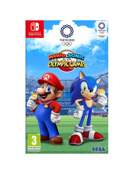 Žaidimas Mario & Sonic at the Olympic Games Tokyo 2020 (Switch)