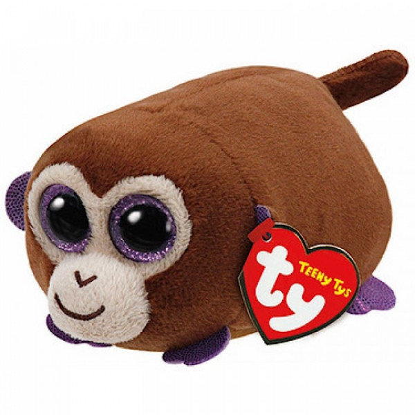 ŽAISLAS TY TEENY TYS MONKEY BOO - BROWN MONKEY