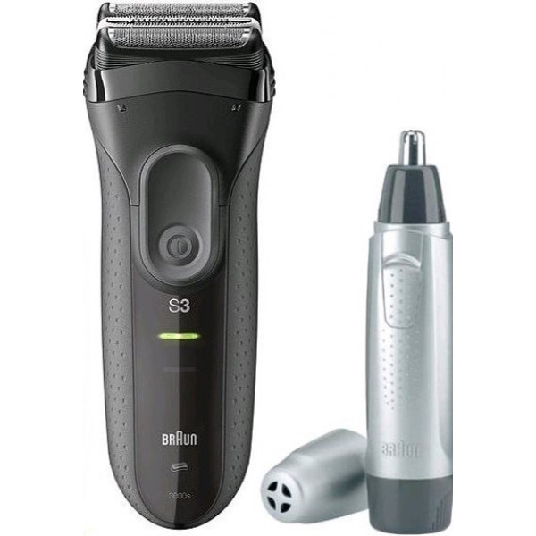 BRAUN 3000VS BLACK (3000S+EN1
