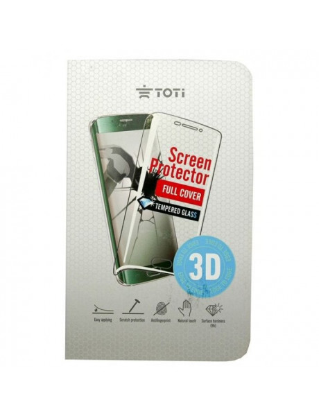 Ekr. Aps. Pl. Toti Screen protector TEMPERED glass 3D full coverfor iPhone 7/8 / Black