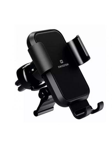 Swissten S-GRIP G2-AV4 Metal Age Gravity 360 Universal Car Air Vent Holder For Devices Black
