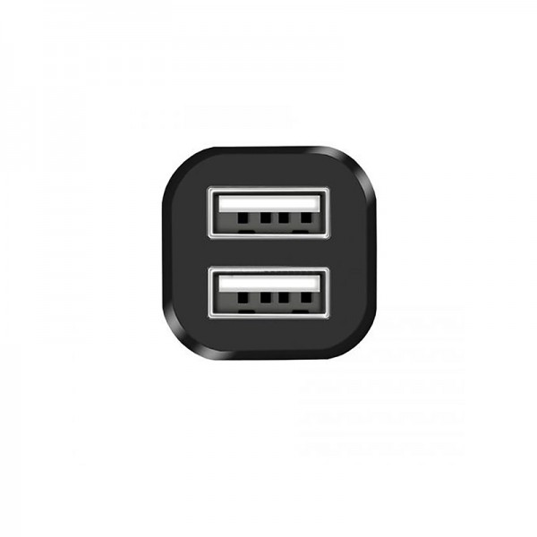 Pakrovėjas Hoco Z12 elite two-port car charger