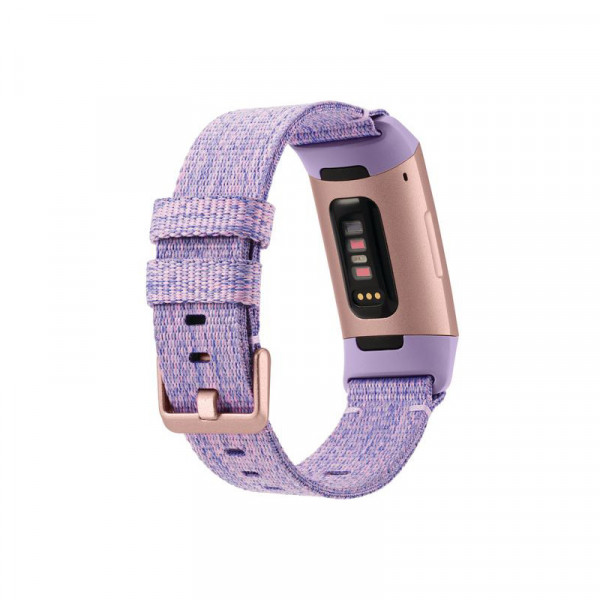 Išmanioji apyrankė Fitbit Charge 3 (NFC) Steps and distance monitoring, Touchscreen,Grayscale OLED