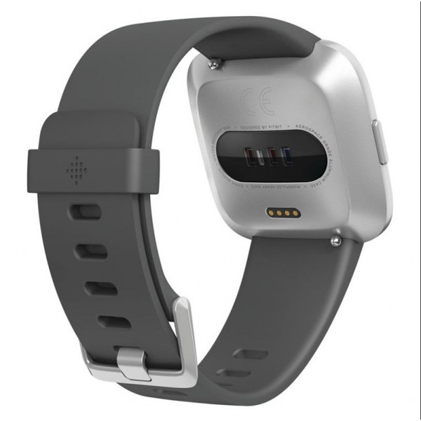 Laikrodis Fitbit Versa Lite Fitness Trackers S/L, /Silver Gray Fitbit LCD, Silver Gray, Touchscreen,