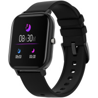 Išmanusis laikrodis Smart watch 1.3inches TFT full touch screen Zinic+plastic