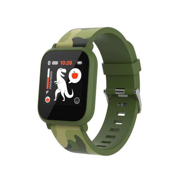 Laikrodis Canyon Kids smart watch 1.3 inches IPS full touch screen green pl