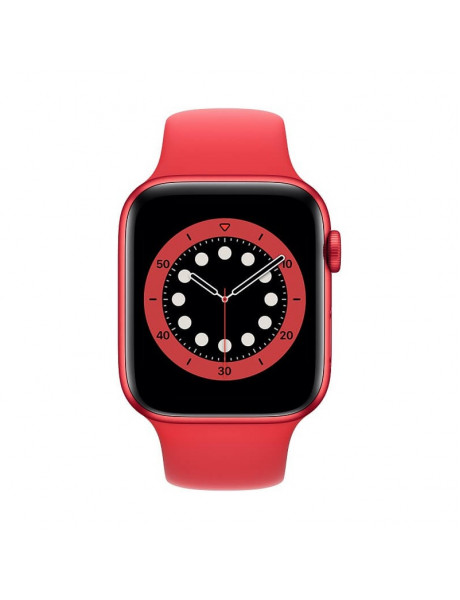 Išmanusis laikrodis Apple Watch Series 6 GPS 44mm PRODUCT(RED) Aluminium Case with PRODUCT(RED) Spor