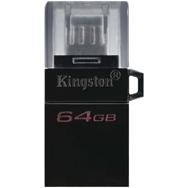 MEMORY DRIVE FLASH USB3.2 64GB DTDUO3G2/64GB KINGSTON