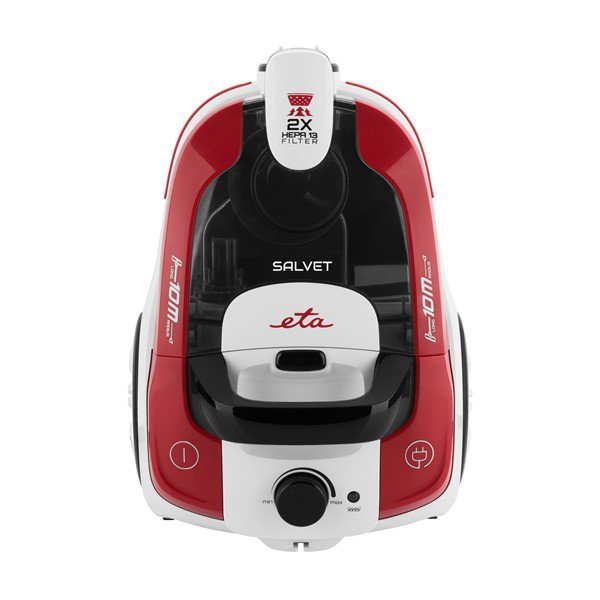 ETA Vacuum Cleaner SALVET ETA051390000 Bagless, Dry cleaning, Power 700 W, Dust capacity 2.2 L, 70 dB, Red