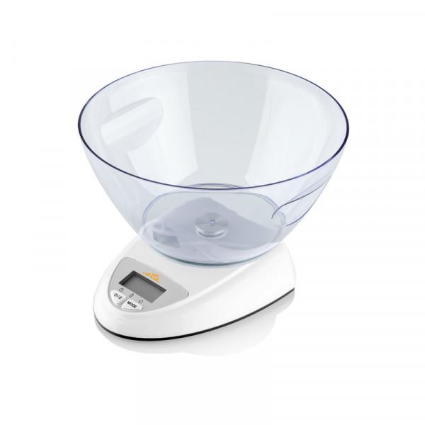 ETA Kitchen scale Zori Maximum weight (capacity) 5 kg, Graduation 1 g, Display type LCD, White