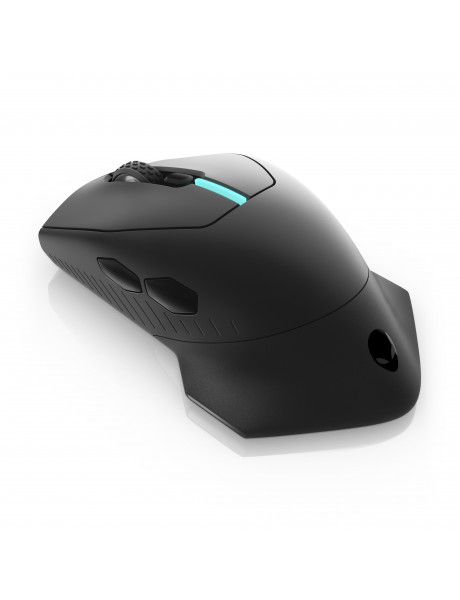 Dell Alienware Gaming Mouse AW310M Wireless optical mouse, Yes, Black