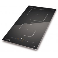 Caso Hob Master E2 Induction, Number of burners/cooking zones 2, Black, Timer