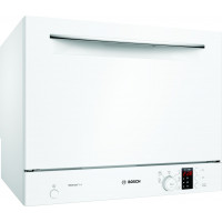 Bosch Dishwasher SKS62E32EU Free standing, Width 55 cm, Number of place settings 6, Number of programs 6, A+, Display, AquaStop function, White
