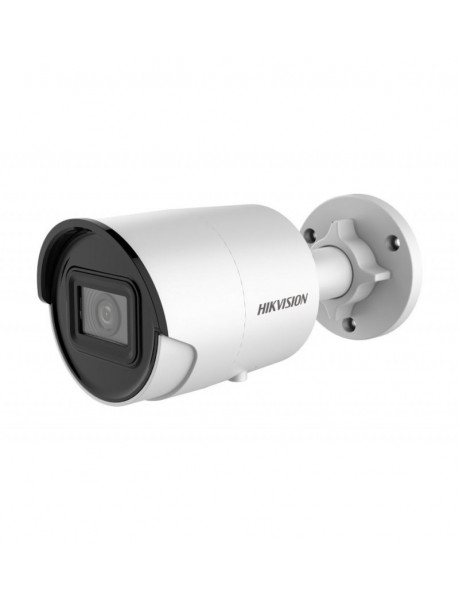 Hikvision IP Camera DS-2CD2086G2-IU F2.8 Bullet, 8 MP, 2.8 mm, Power over Ethernet (PoE), IP67, H.265+, Micro SD/SDHC/SDXC, Max. 256 GB, White