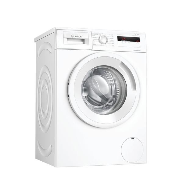 Bosch Serie 4 Washing Machine WAN280L2SN A+++, Front loading, Washing capacity 7 kg, 1400 RPM, Depth 55 cm, Width 60 cm, Display, LCD, White