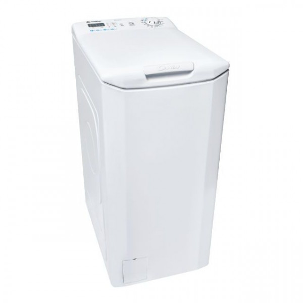 Candy Washing machine CST 27LE/1-S Top loading, Washing capacity 7 kg, 1200 RPM, A+++, Depth 60 cm, Width 40.5 cm, White, LED, NFC